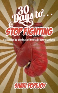 30 days to Stop Fighting; sharipopejoy.com